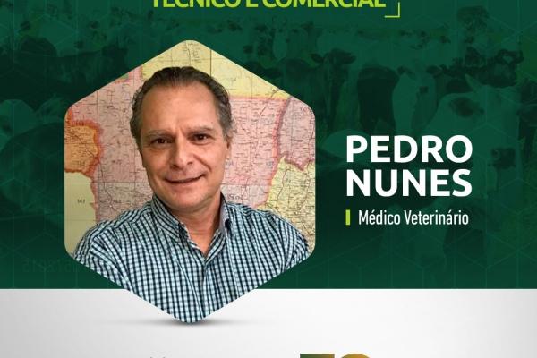 NOVO COORDENADOR TÉCNICO E COMERCIAL  PEDRO NUNES / Médico Veterinário
